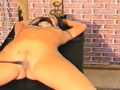 Naked brunette big clit pussy submission squirts