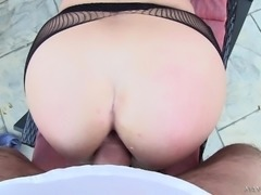 Sensual blonde wants nothing more than a big rod plowing her anal hole