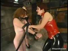 Severe BDSM story with two mistresses and one slave
