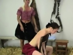 Sexy European Babes Love Hard Spanking