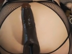 Big and Thick Dildo Play