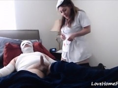 Horny Patient Gets Healed By A Naughty Nurse
