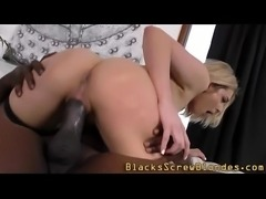 Slut creamed by huge cock