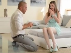 Ultra Sexy UK babe Stella Cox fucks in Pantyhose.flv