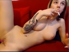 Sexxxy cute little babe playing with dildo fucks on cam - www.sexxxywebcamgirls.