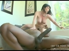 Horny MILF Loves That Big Black Cock Part1
