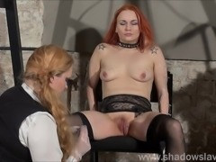 Dirty Mary lesbian pussy whipping and amateur bdsm