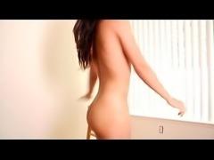 My sweet teenage girlfriend makes striptease video for me - NAKEDMILF.RU