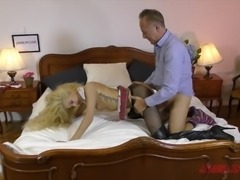 Monique Woods likes being naughty with her handsome lover