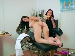 Patient Plays With Pussy Of Nurse Using Various Objectseet01.wm
