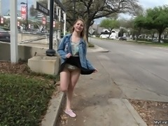 Lila Frey's First Public Fuck