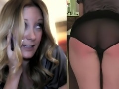 Woman gets caught dirty talking at work. Boss punishes her.