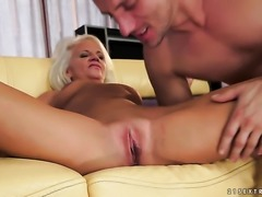 Blonde gets a good hard fucking in
