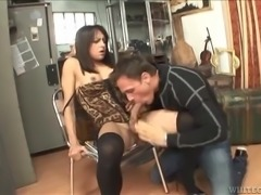 Dirty minded tranny is banging that horny stud