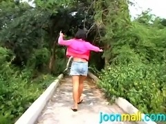 Come in and watch another masterpiece video with Joon Mali. This Thai teen never stops surprising us. No wonder we are enchanted by her. She has tiny frame with gorgeous titties and amazing round ass. Would you love to let her play with your cock?! We know you would, so join us at Joon Mali.