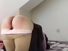 my master spanking my ass hard and cruel