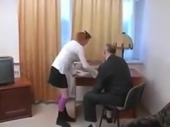 STP4 Headmaster Fucks His Favourite Schoolgirl !