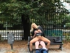 Ravishing Martina gets screwed in the park
