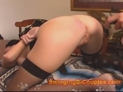 Some ROUGH ass and pussy PLAY