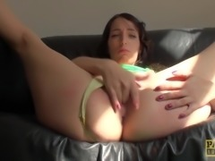 Paddled uk squirter likes it rough