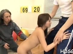 Big tit schoolgirl shoves a fat dildo in her hairy cookie