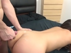 Pretty yummy chick Shane Blair stimulates clit during sex