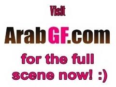 Amateur Arab girlfriend takes cock in bedroom