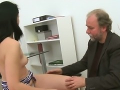 Lusty joy for lustful teacher in order to pass the exams