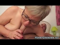 Spex grandmother jizzy