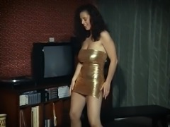 THE WAY YOU MOVE - big boobs brunette strip dance tease