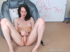 Magnificent Teen Chick Fucks Her Pussy Using A Sex Toy - CAMSGRAM.com