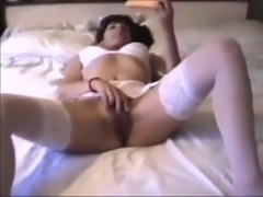 homemade retro British milf  cumshot swallow big tits cock