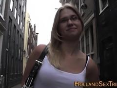 Dutch hooker in stockings