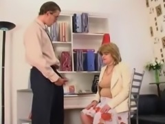 Mutual masturbation in the office
