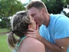 Cory Chase loves to exercise and this charming babe fucks like a porn star
