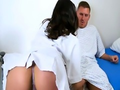 Female nurse from Europe fucks all her hospital patients
