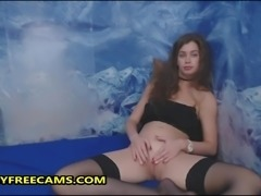 18yo Russian Teen First Time On Cam And Really Shy