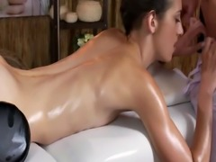 Hot Russian Babe Miky Love Gets Sexy Massage