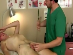 Doctors spanking males and gay college men getting physicals