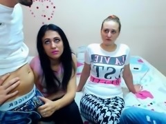 Teen amateur russian teen in group sex