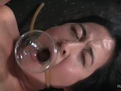You are already a returning visitor to one of the best sites in the world for rope bondage, submissive women and male and female domination. Yes, welcome back to Hard Tied! We know you can't get enough of us. So enjoy this steamy video of Mia Torro getting all tied up and humiliated thoroughly!