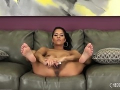 Latina Abby Lee Brazil is Red Hot While She Fucks