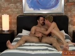 muscle twinks doggystyle and cumshot