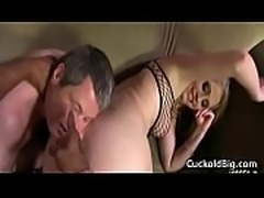 Cuckold Sessions - Busty Wife Nailed By Big Black DIck 03