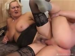 Chubby slut Klara knows what she likes and she likes hard dick