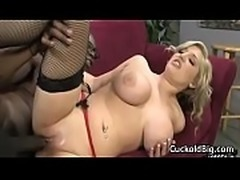 Cuckold Sessions - Busty Wife Nailed By Big Black DIck 13