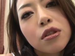 Sayuri Shiraishi's hairy cunt is all a frisky fellow wants to explore