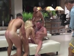 We invite you to take part in an incredible orgy. Look to the right, and you will see how amazing Blueangy adores having her pussy drilled by a hard cock, while she gives an amazing blowjob at the same time. Look to the left, and you'll see that these wet pussies are already waiting for you.