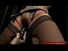 Femdom MILF tormenting her new slave