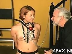 Angel enjoys intimate moments of dilettante bondage